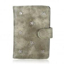 Paspoort hoesje sterren groen