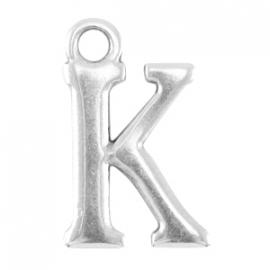 DQ metalen letter bedel K