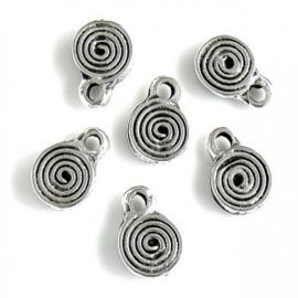 DQ metalen bedel spiraal