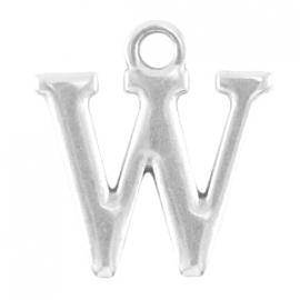 DQ metalen letter bedel W