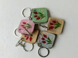 Sleutelhanger tulpen
