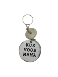 "Sleutelhanger ""kus voor mama"""