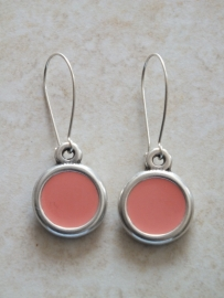Coral pastel pink emaille