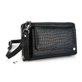 Portemonnee/clutch black