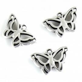 DQ metalen vlinder
