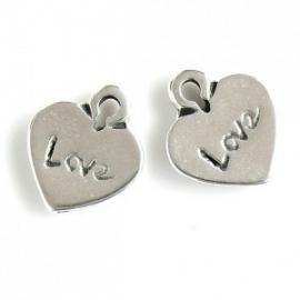 DQ metalen hart love