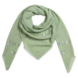 Sjaal summer glamm groen