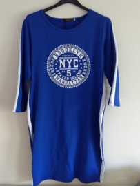 Jurk blauw NYC