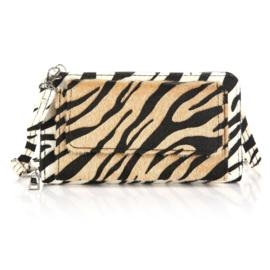 Portemonnee/clutch zebra