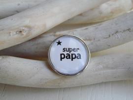 """Tekstdrukker """"super papa/opa ster"""""""