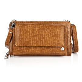 Portemonnee/clutch brown