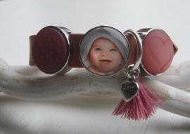 Gepersonaliseerde Cuoio armband