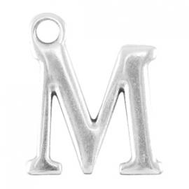 DQ metalen letter bedel M
