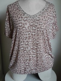 Shirt camouflage oud roze
