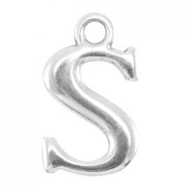 DQ metalen letter bedel S