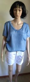 Shirt Roos blauw