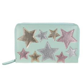 Portemonnee star party groen