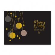 Sieradenkaart Merry X-mas