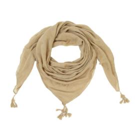 Sjaal Tiny stars beige