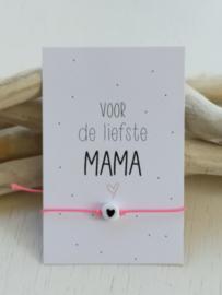 Voor de liefste mama armbandje ❤️