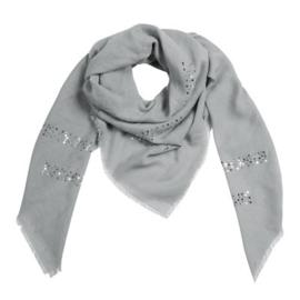 Sjaal summer glamm grijs