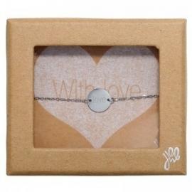 Giftbox stainless steel armbandje love