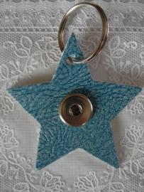 Sleutel/tas hanger ster douro blauw                  th096