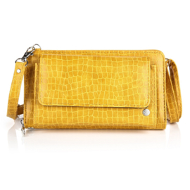 Portemonnee/clutch yellow