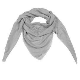 Sjaal glamour star grijs