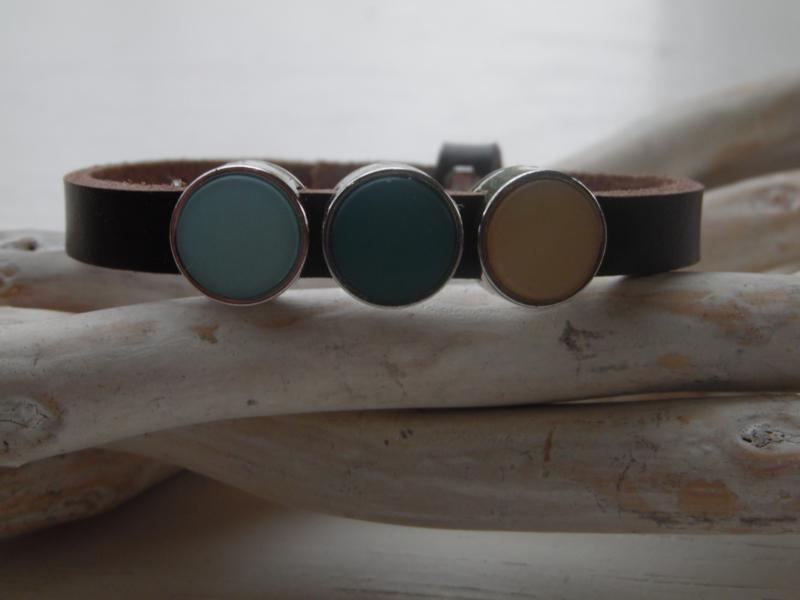 Cuoio armband  dark brown