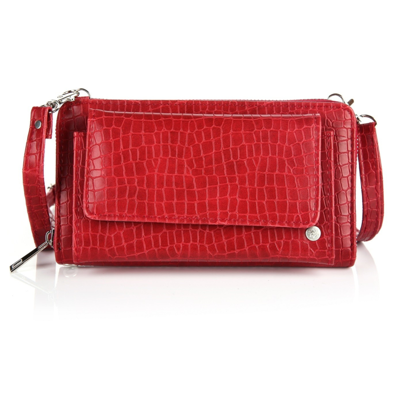 Portemonnee/clutch red