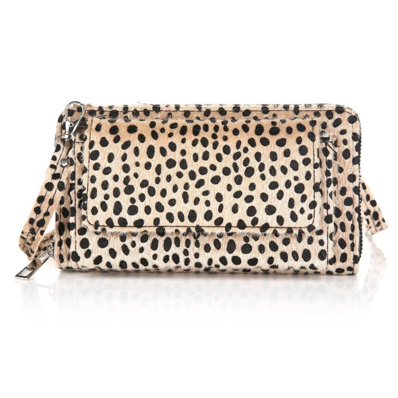 Portemonnee/clutch cheetah