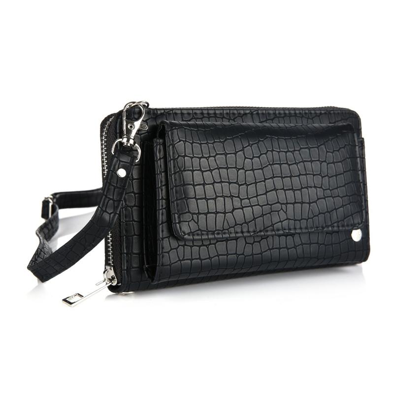 Portemonnee/clutch black