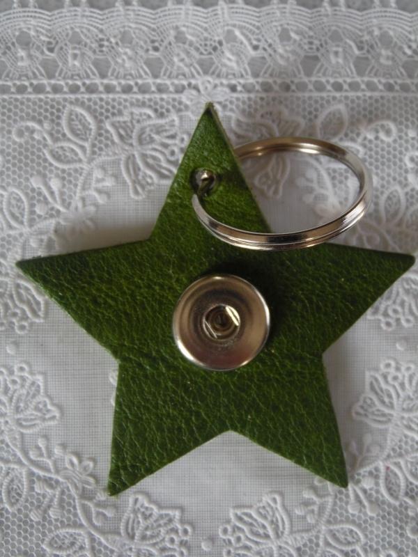 Sleutel/tas hanger ster  Verde              th082