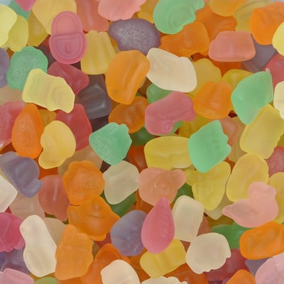 Confetti suikervrij  gom zacht Joris 150g