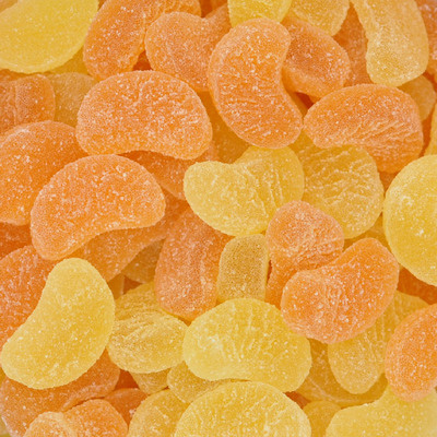 Schijfjes citroen/sinaas gom zacht Joris 150g