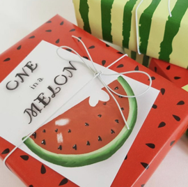 Kaartje | ONE IN A MELON