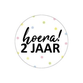 Stickers | HOERA |  2 JAAR