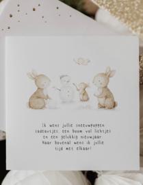Kerstkaart | SNEEUWPOP