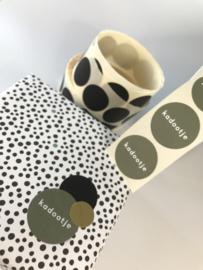 Sticker | Sluitzegel | KADOOTJE | ROSEMARY GREEN