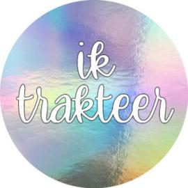 Stickers | IK TRAKTEER | HOLOGRAFISCH