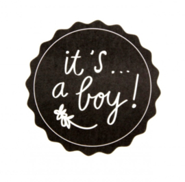 STICKERS |  BOY Zwart