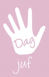 LABEL | Dag Juf roze