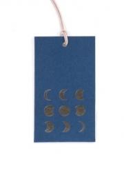 Gifttag | Moon Deep Petrol
