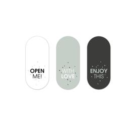 Stickers   RETRO  BLACK-SAGE