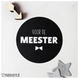 Stickers | VOOR DE MEESTER