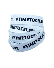 Krullint | #TIMETOCELEBRATE | WIT-ZWART