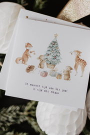 Kerstkaart | BOSDIERTJES