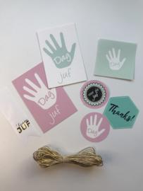 Gifttag | Sticker pakketje | JUF