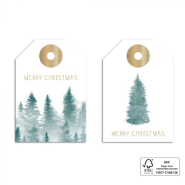 Gifttag | DUO FOREST - GOLD